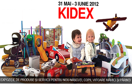 Expozitie Kidex Romexpo Bucuresti