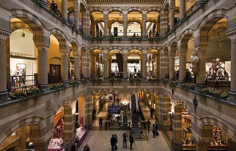 Mall in amsterdam